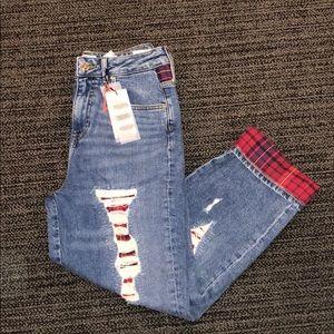 Tommy Hilfiger x Gigi Hadid Distressed Jeans